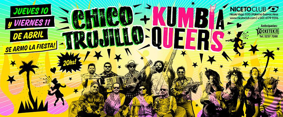 Chico Trujillo (CL) + Kumbia Queers