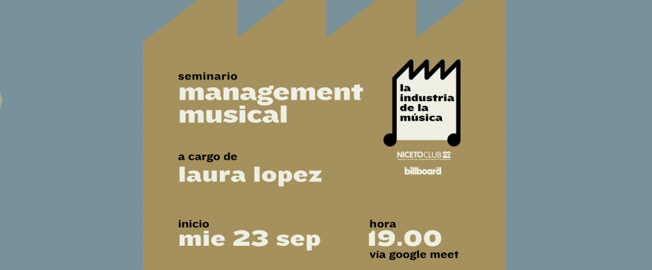 Seminario Management Musical