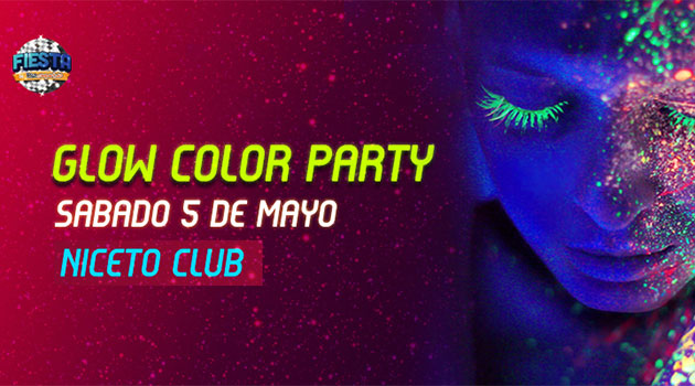 Piso Compartido Glow Color Party