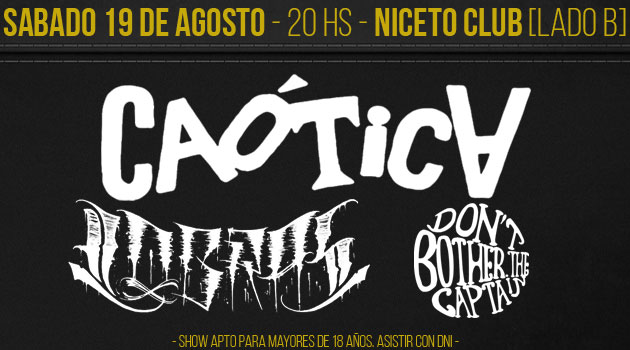 Caotica - Lobras - Dont Bother The Captain  (LADO B)