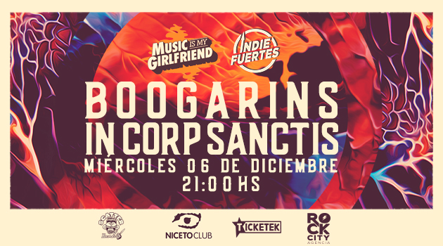 MIMG & IndieFuertes pres. Boogarins + In Corp Sanctis