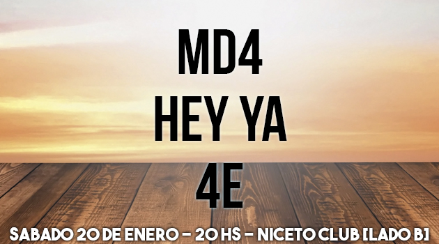 MD4 - HEY YA - 4E (Lado B)