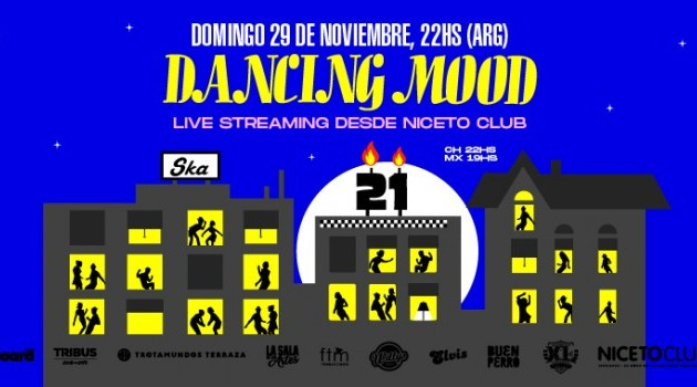 Dancing Mood live streaming desde Niceto Club