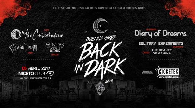 RE PROGRAMADO - BA Back In Dark