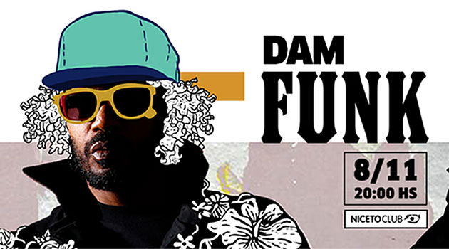 Red Bull Music Academy pres. DAM FUNK