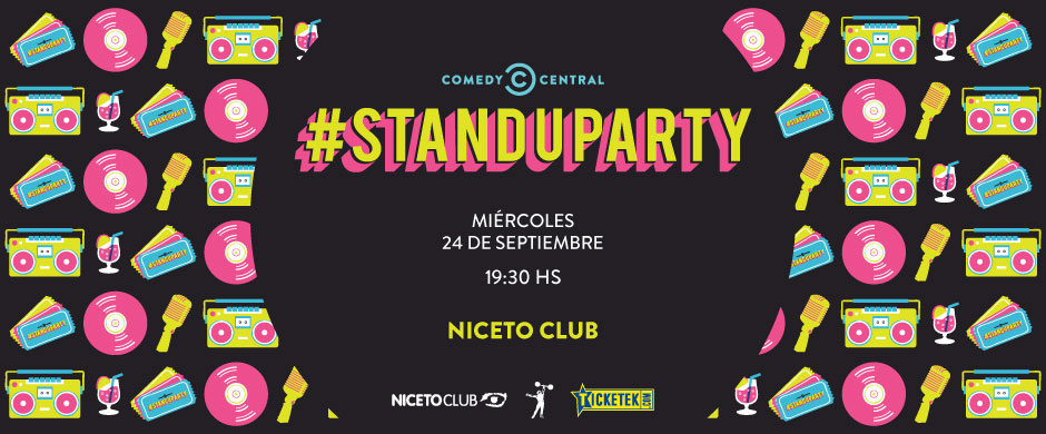 #STANDUPARTY