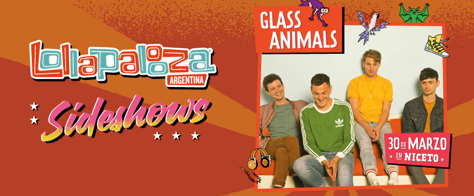 Lollapalooza Sideshows pres. Glass Animals